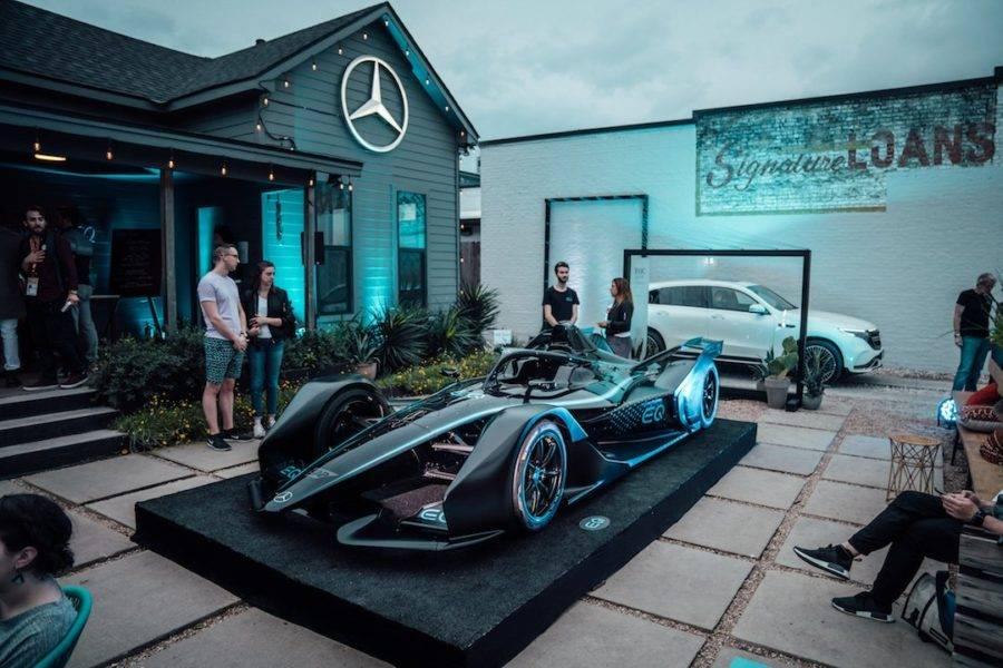 A Mercedes-Benz deve disputar a Fórmula E em 2020. (crédito: divulgação).
