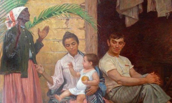 """""""A redenção de Cam"""", de Modesto Brocos. Wikimedia Commons"""