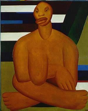 A Negra, de Tarsila do Amaral (1923) -   (Imagem: Reprodução)