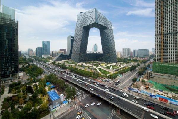 Na foto, o prédio da China Central Television (CCTV), um dos ícones de Pequim. (Foto: Bigstock)