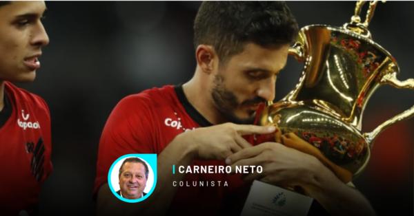 Athletico campeão taça Dirceu Krüger, após vencer o Atletiba
