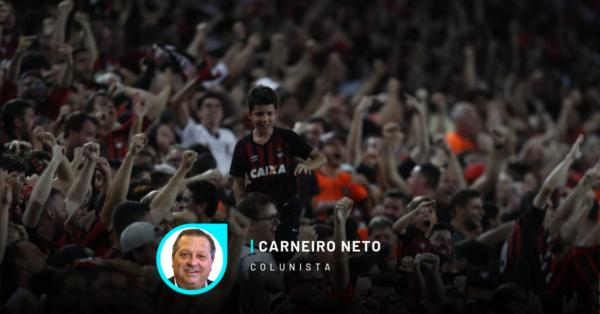 Torcida do Athletico durante a vitória contra o Boca na Libertadores. Foto: Jonathan Campos/Gazeta do Povo