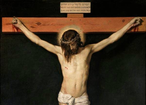 Cristo Crucificado, Diego Velásquez. Foto: Wikimedia Commons
