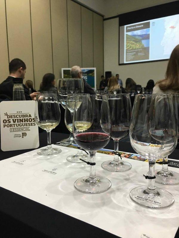 Boas surpresas na degustação de vinhos portugueses