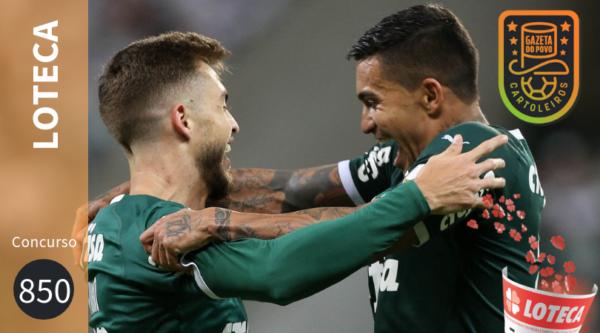 4a0c356b5093a Palmeiras recebe o Fortaleza na primeira rodada da Série A, destaque do  concurso 850 da