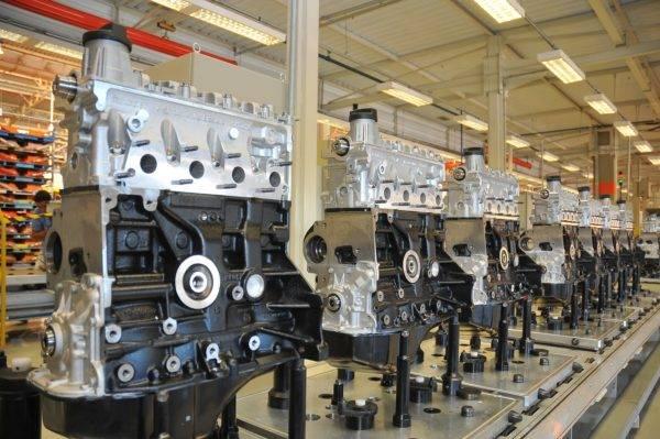 Fábrica de motores no Brasil: setor automotivo manteve acesso a benefícios fiscais. Foto: VW.