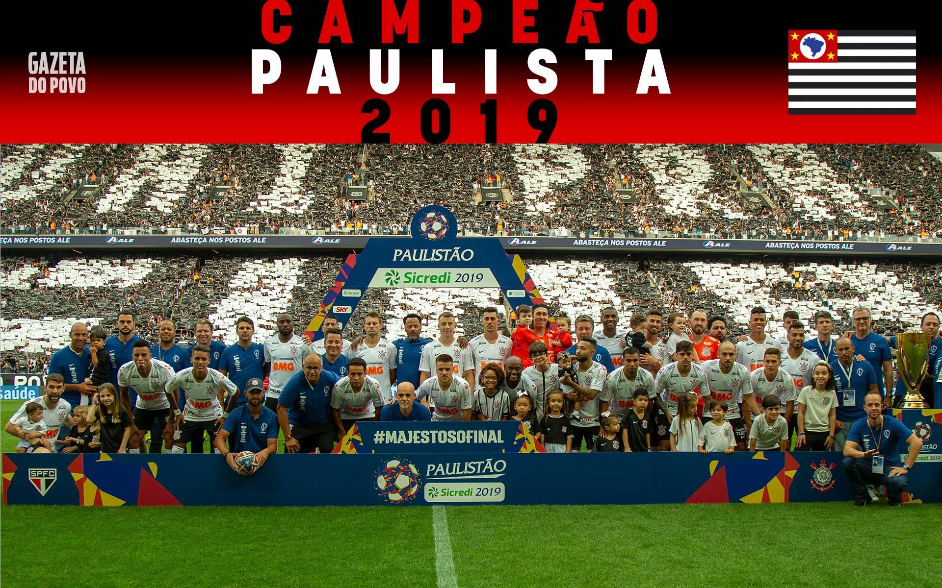 4ba1a7a6b5dc18 Pôster campeão 2019 de Corinthians e Flamengo