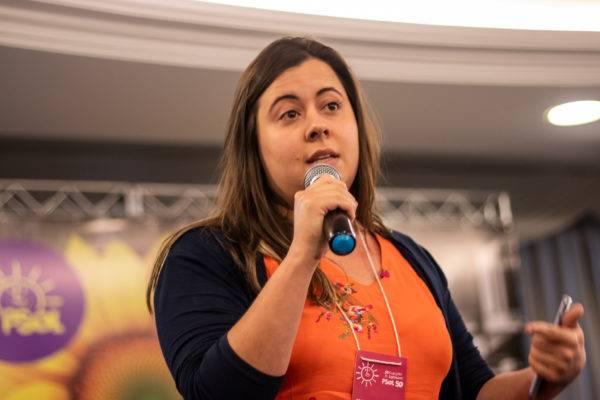 Sâmia Bonfim foi a deputada federal com a 2ª maior votação na bancada do PSOL. Foto: PSOL/Flickr