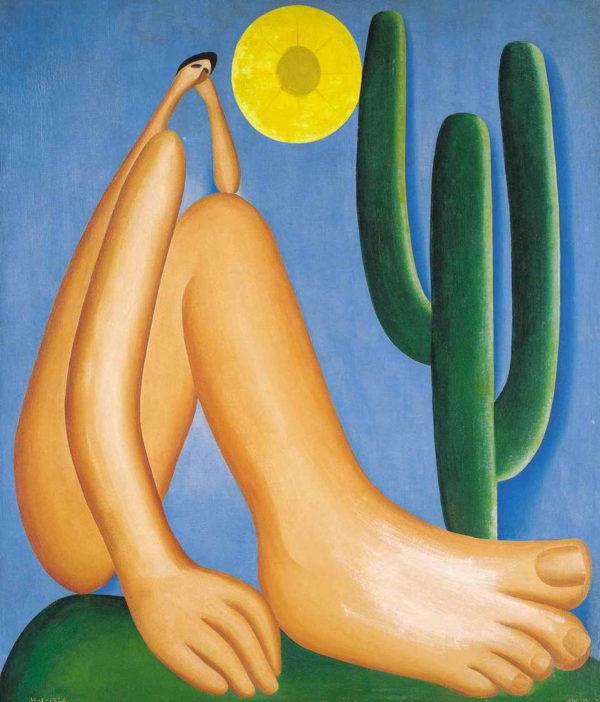 Abaporu, obra de Tarsila do Amaral (Foto: Divulgação)