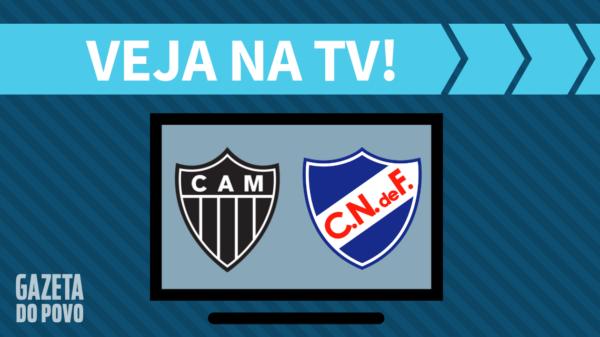 Atlético-MG x Nacional: veja na tv