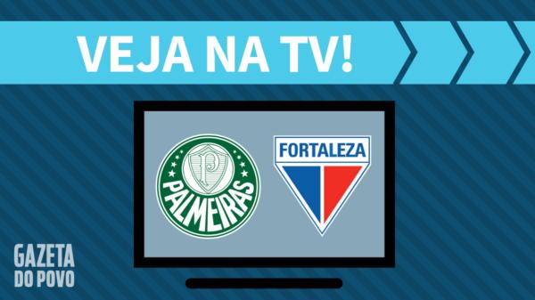 Palmeiras x Fortaleza: veja na tv