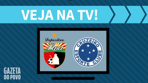 Deportivo Lara x Cruzeiro: veja na tv