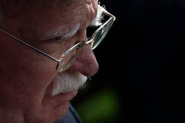 Assessor de segurança nacional da Casa Branca, John Bolton