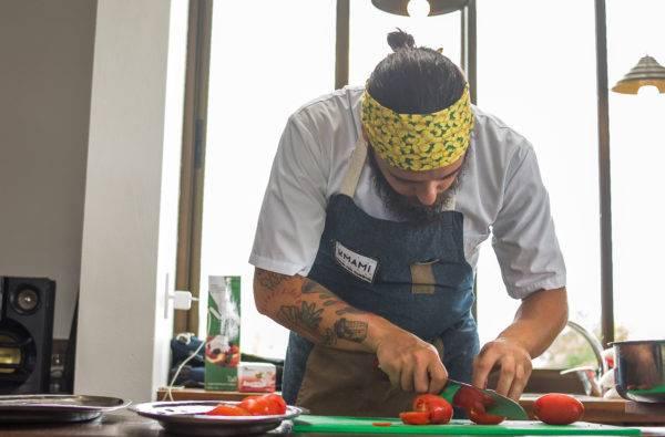 O chef André Fontana Pionteke abre a temporada gastronômica da Aliança Francesa em 2019. (Fotos/ Divulgação)