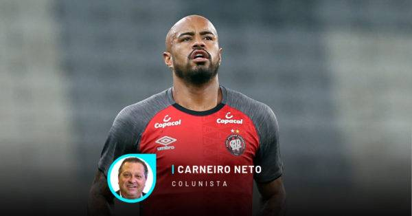 Thiago Heleno, destaque do Athletico, suspenso por doping.