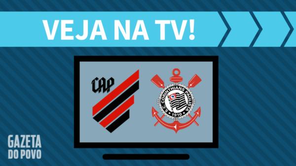 Athletico x Corinthians: veja na tv