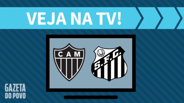 Atlético-MG x Santos: veja na tv