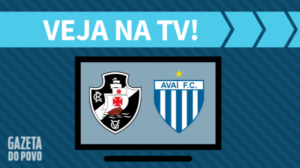 Vasco x Avaí: veja na tv