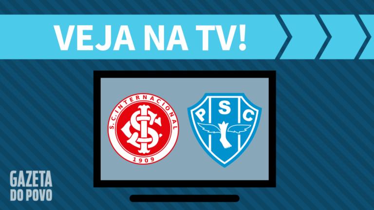 Internacional x Paysandu AO VIVO: saiba como assistir ao jogo na TV