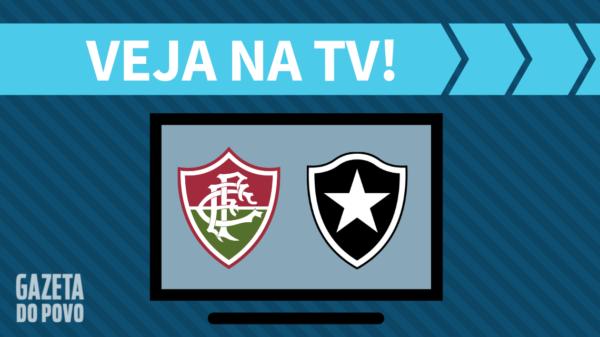Fluminense x Botafogo: veja na tv