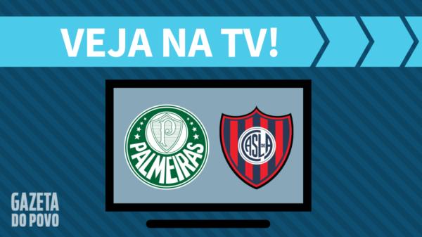 Palmeiras x San Lorenzo: veja na tv
