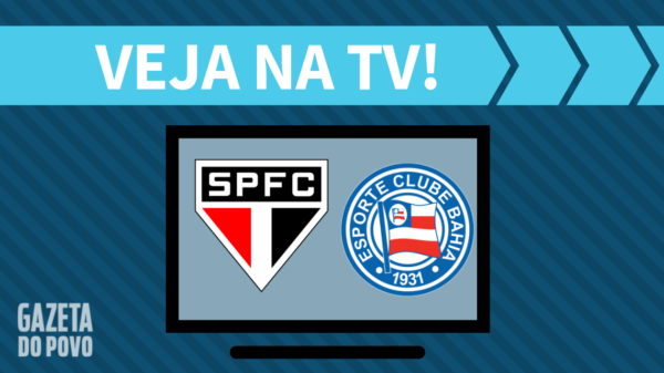 São Paulo x Bahia: veja na tv