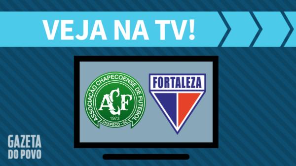 Chapecoense x Fortaleza: veja na tv