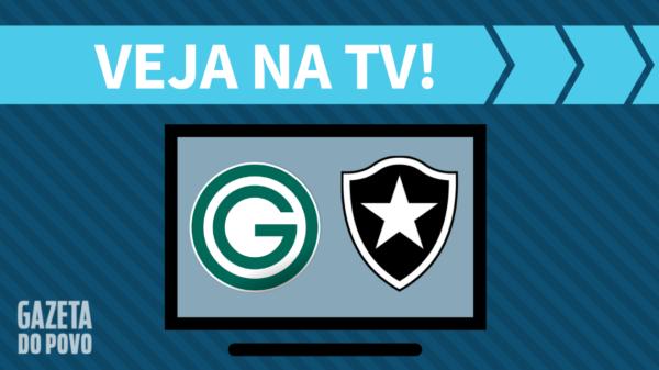 Goiás x Botafogo: veja na tv