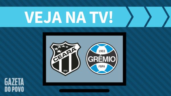 Ceará x Grêmio: veja na tv