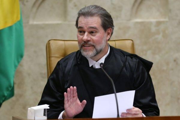 O ministro do Supremo Tribunal Federal (STF) Dias Toffoli toma posse no cargo de presidente da Corte. Foto: Fabio Rodrigues Pozzebom / Agência Brasil