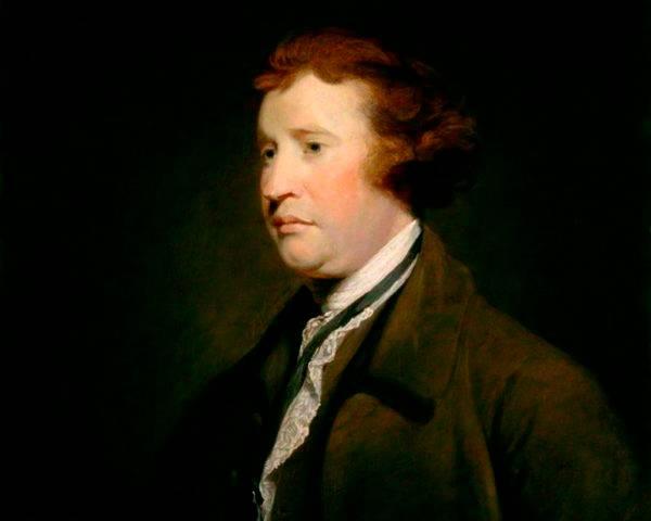 Retrato de Edmund Burke. Foto: Wikimedia Commons