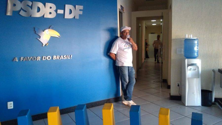 Sede do PSDB do Distrito Federal no Shopping Conic, no centro de Brasília. Foto: Lucio Vaz