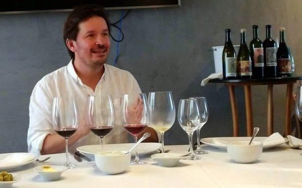 Matias Riccitelli, jovem e inspirado enólogo da vinícola boutique Riccitelli, no Valle do Uco, Argentina.  (Fotos/ Anacreon de Téos)