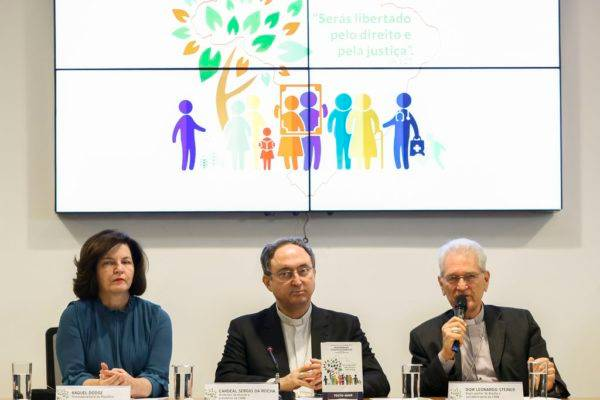 Lançamento da Campanha da Fraternidade 2019, em Brasília, DF. Foto: Marcelo Camargo/Agência Brasil
