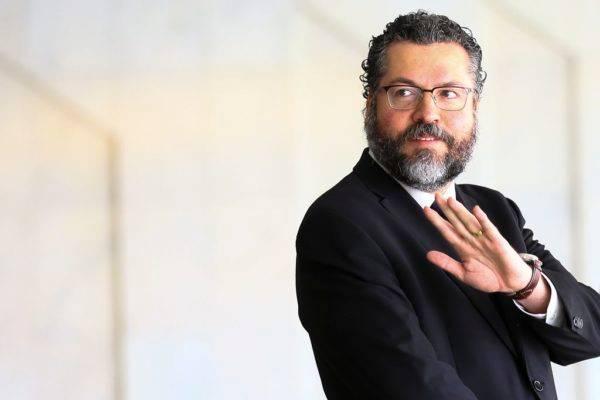 O ministro das Relações Exteriores, Ernesto Araújo | Foto: Marcelo Camargo/Agência Brasil