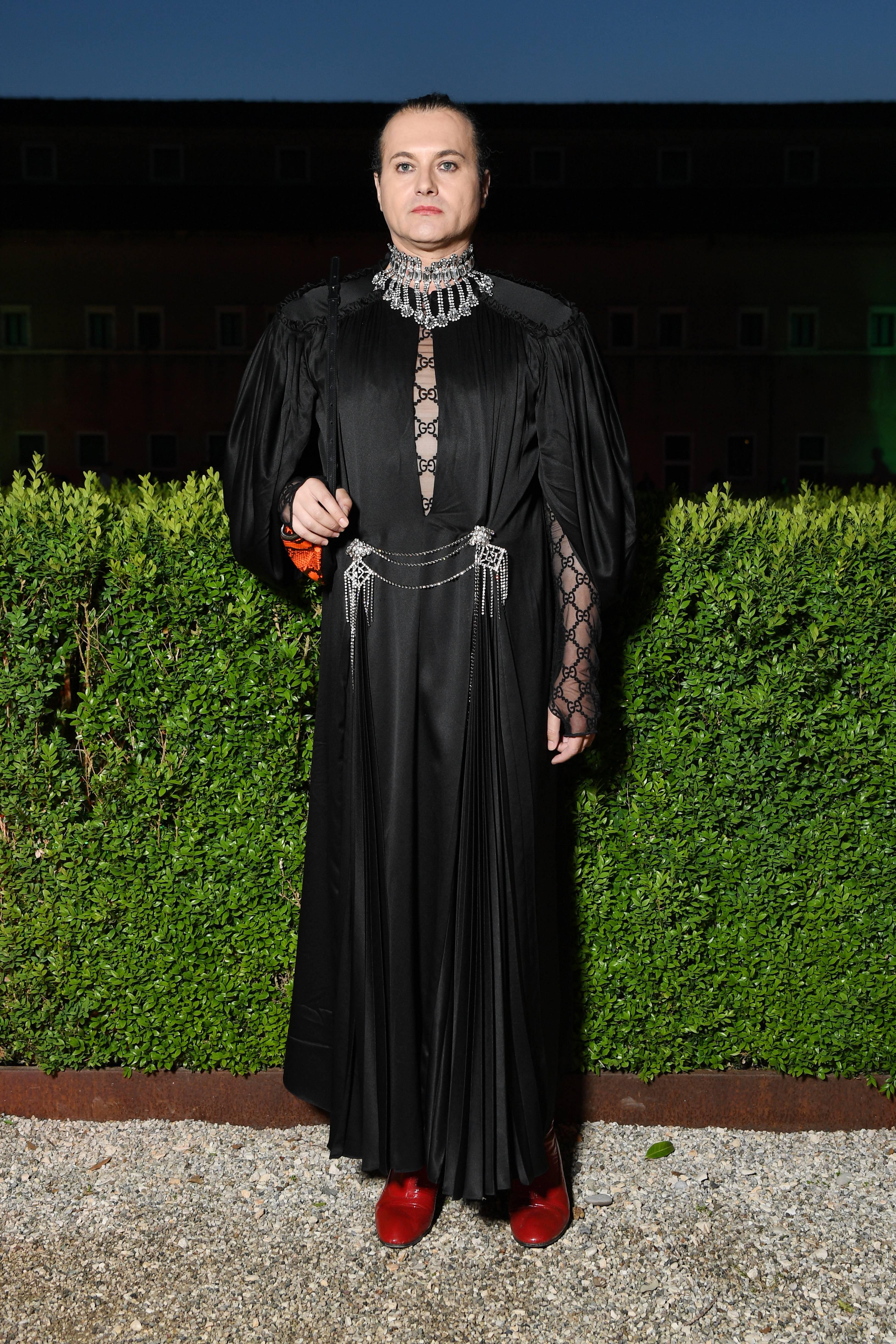 Milovan Farronato foi o prestigiado no jantar de gala da Gucci. (crédito: Daniele Venturelli/Daniele Venturelli/ Getty Images for Gucci)