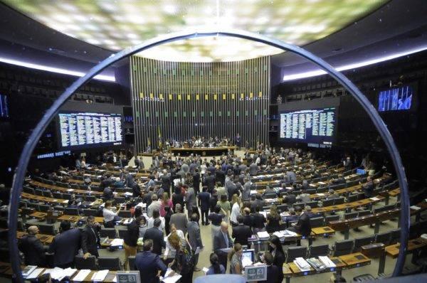 Plenário da Câmara dos Deputados.  Foto: Waldemir Barreto/Agência Senado