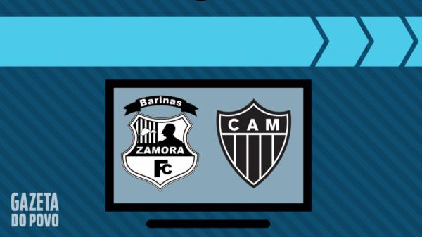 Zamora x Atlético-MG: veja na tv