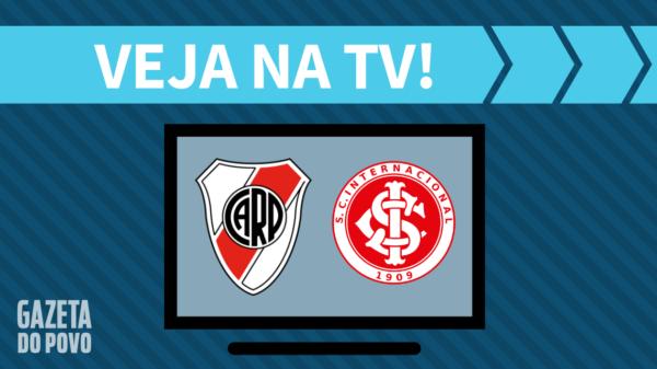 River Plate x Internacional: veja na tv