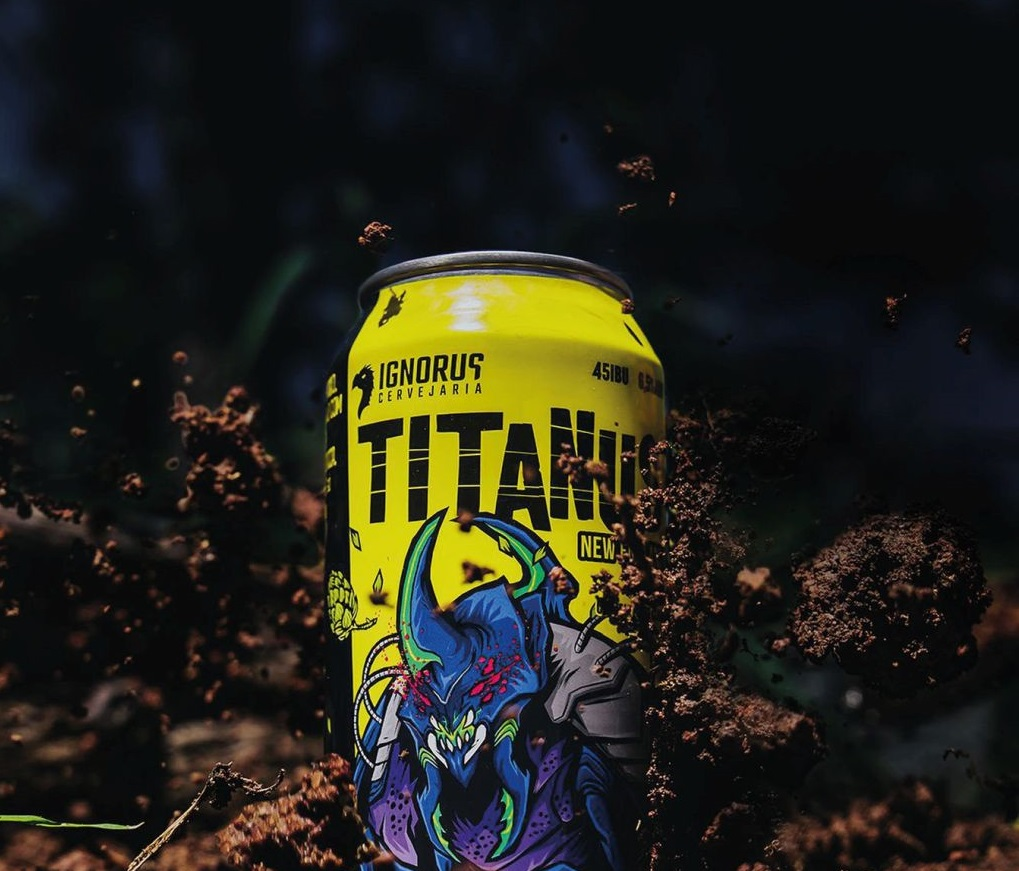 Cerveja IPA apresenta um amargor.