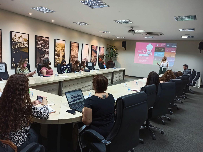Clube da Alice fez apresentação em Maringá.